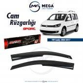 Ww Caddy 2004 2017 Cam Rüzgarlık Mugen Tip Sunplex
