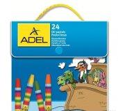 Adel Çantalı Pastel Boya 24 Renk