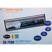 Cadence Cd 7200 Bluetoth Usb Haf.k Aux Radyo 4x50w Oto Teyp