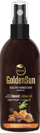 Golden Sun Yoğun Bronzlaştırıcı + Zeytin Yağı 150ml