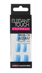 Elegant Touch Express Polished Pastel Blue Takma Tırnak