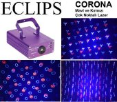 Eclips Corona Mavi Kırmızı 500 Mw Çok Noktalı Lazer