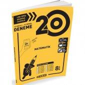 Hız Yayınları 8. Sınıf Matematik 20 Li Deneme...