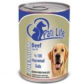 Pati Life 12li Sığır Etli Konserve Yaş Köpek Maması 415 Gr