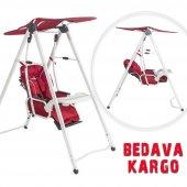 Beneto Bt860 Leone White Ev Tipi Salıncak Kırmızı, Mama Sandalyesi,salıncak Mama Sandalyesi