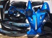 Motoran Torro Lx100 Grenaj Seti Mavi Siyah Orjinal