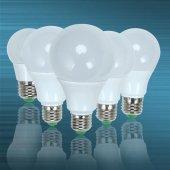 4lü Paket Led Ampul 5 7 9 12 15 Watt Beyaz Işık Enerji Tasarrufl