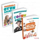 Montessori İle Öz Güvenli Ve Mutlu Çocuk Yetiştirmek Eğitmek 3set