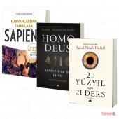 Sapıens + Homo Deus + 21.yy 21 Ders Yuval Noah Harari 3 Kitap