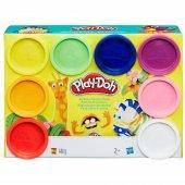 Play Doh Hasbro Marka 8 Renk Oyun Hamuru Gökkuşağı Seti A7923