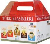 Türk Klasikleri Roman Kutulu 10 Kitap Set Takım