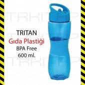 Tritan Tupperware Gıda Plastiği 0 Bpa Free Matara 600ml. Globox
