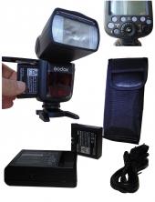Lion Bataryalı Godox V860ıı Nikon D610 İçin Flaş...