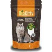 Biokitty Bentonit Kalın Taneli Kedi Kumu Doğal Kokusuz 10l