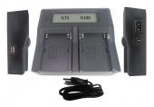 Dijital Power D54s Batarya Çiftli Şarj Aleti