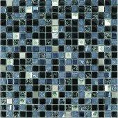 Mk45 Granitto Siyah Taşlı Cam Mozaik