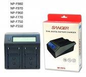 320 Led Kamera Işıkları İçin Sanger Np F970 İkili ...
