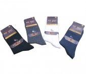 Erkek Likralı Pamuk Soket Çorap 6lı Paket