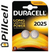 Duracell Cr 2025 Lithium 3 Volt 2 Li Kart