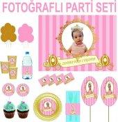 Doğum Günü Prenses Parti Seti 24 Kişilik