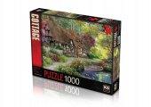 Ks Puzzle 1000 Parça Woodland Walk Cottage 11354