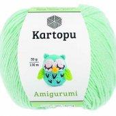 Kartopu Amigurumi 507 Su Yeşili
