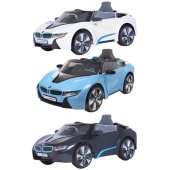 Bmw İ8 Akülü Araba 12 Volt Çift Motor Akülü Araçlar
