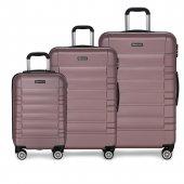 Burattı 3 Lü 0 Valiz Set Travelstar