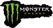 Monster Energy No.2 Sticker