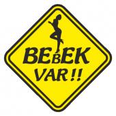 Bebek Var Sticker