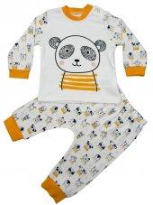 Necixs Panda Model Pijama Takımı 0 3 6 9 Ay