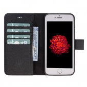 Magıc Wallet Iphone 6 7 8 Black 2ın1