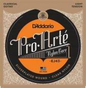 Daddario Ej43 Light Tension Proarte Klasik Gitar Teli
