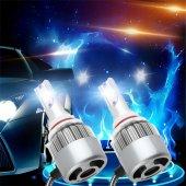 H7 Led Zenon Yeni Nesil Süper Beyaz Işık Fan Soğutmalı C6