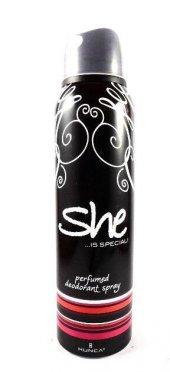 She Deodorant Special Siyah 150 Ml Bayan Spray