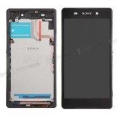 Sony Xperia Z2 Lcd Ekran Dokunmatik Çıtalı + Tamir Seti + Ön Cam