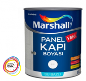 Marshall Su Bazlı Panel Kapı Boyası 1 Lt Tüm Renkler