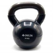 Delta 24 Kg Çaydanlık Tipi Siyah Kettlebell Dambıl Ktl 1571