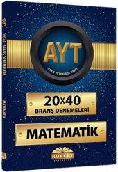 Robert Yks Ayt Matematik Branş Deneme 20*40 2019