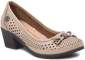 Mammamia D19ya 715 Bej Bayan Ayakkabı Casuel