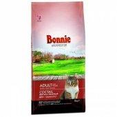 Bonnie Renkli Taneli Biftekli Kuru Yetişkin Kedi Maması 15 Kg