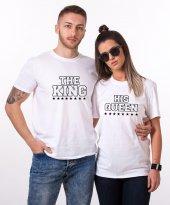 Tshirthane King Queen Star Sevgili Kombini Tişörtleri