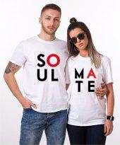 Tshirthane Soul Mate Sevgili Kombini Tişörtleri