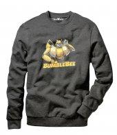 Tshirthane Transformers Bumblebee Music Black 2018 Erkek Uzun Kol