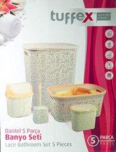 Tuffex Dantel 5 Li Banyo Seti