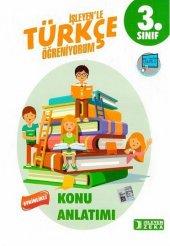 Işleyen Zeka Yayınları 3. Sınıf Türkçe Etkinlikli Öğreniyorum Konu Anlatımlı