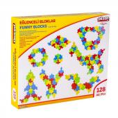 Funny Bloks(Eğlenceli Bloklar) 128pcs Eğitici Lego Oyun Seti