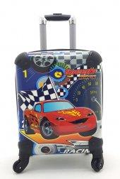 Cars Şimşek Mcqueen Çocuk Valizi & Bavul&çekçekli Valiz