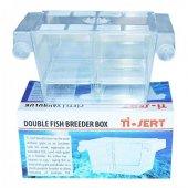 Ti Sert İkili Balık Yavruluğu Plastik Akvaryum Yavruluk