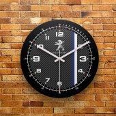 Fmc1166 Tasarımlı Mdf Ahşap Duvar Saati 39cm